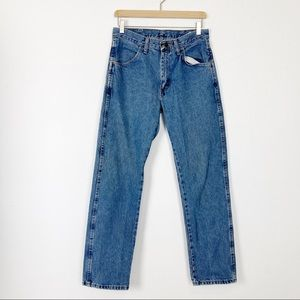 Vintage high rise mom jeans dad boyfriend 90s blue
